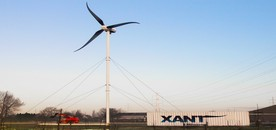 crane-less erection for wind turbines